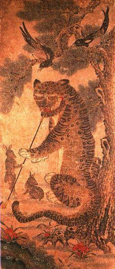"""Long time ago, when tiger smoked pipe..."" - Korea trip 2010"