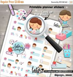 60%OFF - School Stickers, Printable Planner Stickers, Planner Stickers, Erin Condren, Kawaii Sticker, Back to School, Planner Accessories, S