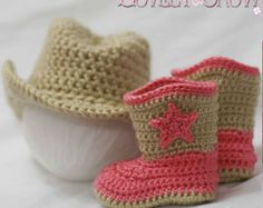 Baby Crochet Pattern Cowboy Hat for BOOT SCOOT'N by TheLovelyCrow