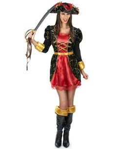 Disfraz pirata barroca mujer