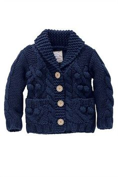 Kid's Clothing - Kidswear and Clothes for Children - Next Cable Bobble Cardigan - EziBuy New Zealand