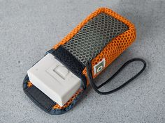 Soap On A Rope Use the Grey mesh for Hands and Feet and the soft orange mesh for personal hygiene.  Hang the pouch to keep soap dry and clean. Happy Fathers Day.