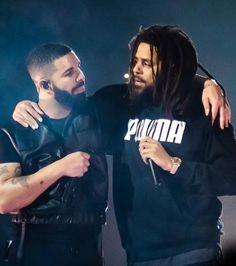 J Cole And Drake, J Cole Albums, J Cole Quotes, New School Hip Hop, Drake Drizzy, Cute Lockscreens, Arte Hip Hop, Aubrey Drake, Nba Fashion
