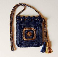 Cute crotchet bag