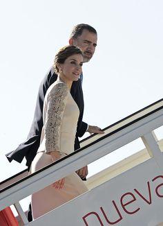 King Felipe and Queen Letizia of Spain visit France 6/2/2015