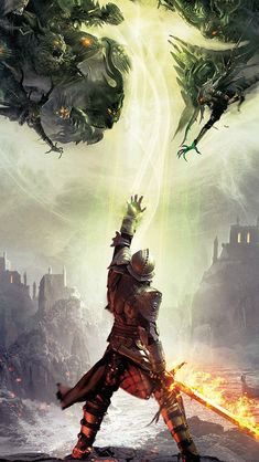 Dragon Age Inquisition Game Illust Art #iPhone #5s #wallpaper