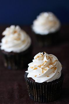 St. Patrick's Day Cupcake: Irish Car Bomb Cupcakes