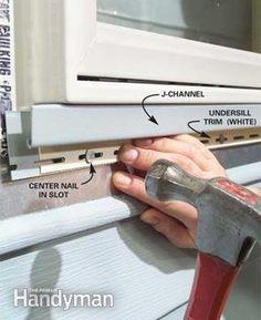 How To Install Vinyl Siding Vinyl Siding Siding Repair Vinyl Siding Installation