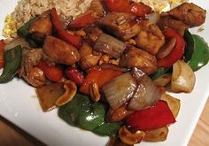 How to Make Chinese Chicken and Cashews Cashew Chicken, Kung Pao Chicken, Asian Recipes, Asian Foods, Ethnic Recipes, Best Wok, Chinese Chicken, Chicken Recipes, Dishes