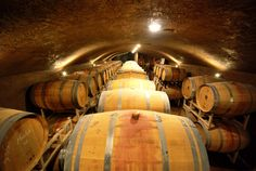 The Caves at Seven Stones Winery in Cawston, BC. From an article on why oak is used in wine.