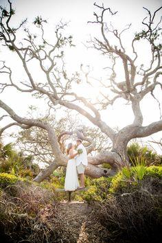 Jekyll Island Driftwood Beach wedding