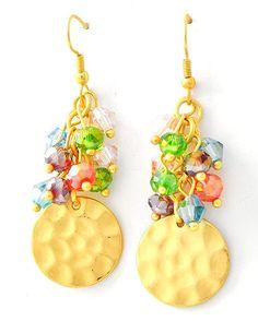 Beach Crystal Earrings $14 - SignatureStyle365
