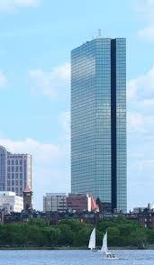 The John Hancock Tower, Boston MA