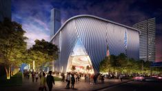 Gallery of New Images, Video for Bing Thom Architects' Xiqu Centre Revealed - 1