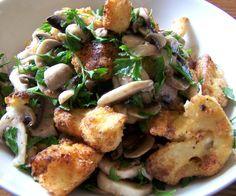 Parmesan Cauliflower and Parsley Salad