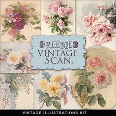 Vintage Flowers....