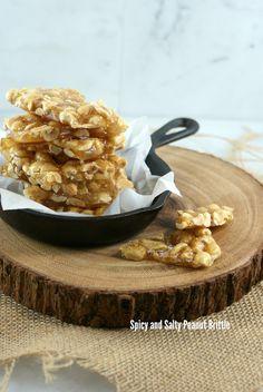 ... Suburban Gourmet: Spicy and Salty Peanut Brittle   Secret Recipe Club