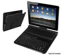 $29.99 iPad 2 Bluetooth Multifunction Case and Keyboard With Built-in Horizontal and Vertical Viewing Stand