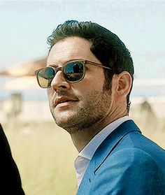 """He's the devil with the blue suit"" 