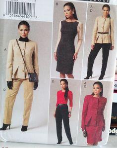 2011 Vogue Wardrobe  8758-Misses' by PaperWardrobesEtc on Etsy