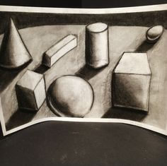 Charcoal Forms by NyxStudioArt 2d Art, Nyx, Charcoal, Abstract, Artwork, Painting, Work Of Art, Summary, Paintings