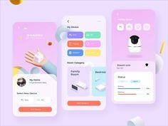 OMAHKU - Smart Home App Design by Permadi Satria Dewanto