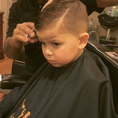 slick haircut with a quiff, in progress Boys Short Haircuts Kids, Boys Haircuts Curly Hair, Boys Haircut Styles, Kids Hairstyles Boys, Toddler Boy Haircuts, Little Boy Haircuts, Boy Hairstyles, Hair And Beard Styles, Hair Styles