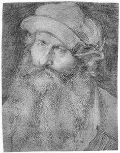 Porträt eines Mannes (Johannes Stabius). Albrecht Durer