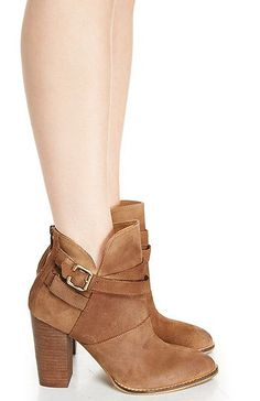 #cute DailyLook: Chinese Laundry Zip It Booties in Brown 5.5 - 10