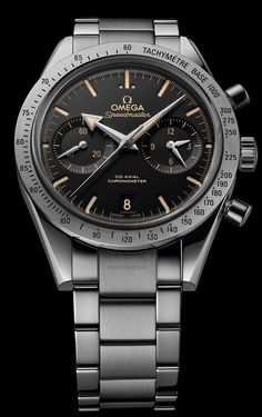 OMEGA - Speedmaster '57. The original Speedmaster of 1957 revisited.