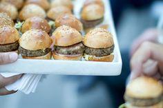 perfect wedding food... mini burgers