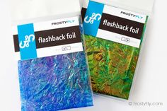 Flashback Foil Fly Tying Materials, Nymph, Reflection, Create, Color, Nymphs, Colour, Colors
