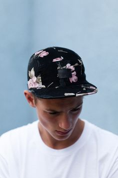I really like this new hat trend that boys are picking up on! :) Prints are cute!