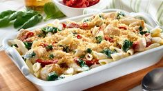 How To Make Chicken and Pasta Florentine Casserole Chicken Recipe