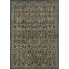 @Overstock - Inspired by Persian textiles and antique rugs, this Preston rug is power-loomed of polypropylene with machine finishing. This rug features drop-stitching to add texture and depth in hues of blue with camel, blue and beige.http://www.overstock.com/Home-Garden/Preston-Blue-Agra-Rug-53-x-76/5906657/product.html?CID=214117 $150.99