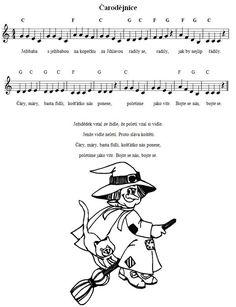 čarodějnice Music Do, Halloween, Kids Songs, Image Search, Homeschool, Classroom, Teaching, Education, Co Dělat