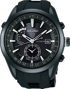 Seiko SAST011 $1,850 Time in 39 different timezones