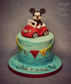 Me and my Car - Cake by Stef and Carla (Simple Wish Cakes)
