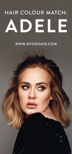 In an industry of over saturated and over processed, Adele falls in the opposite category. Her Hair keeps a authentic look, embracing her hues and Natural warmth. It's simple Colouring, done so incredibly well you can only describe it as effortless. See how to you can have her Colour.