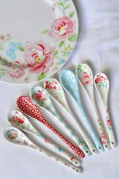 Beautiful spoons by Greengate.