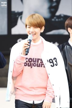 Find EXO Clothing, KPOP Sweatshirts for an affordable price Exo Style, Sehun And Luhan, Kpop Fashion, Pink Sweater, Celebrity Crush, Shop Now, Casual Outfits, Sweatshirts, Boys