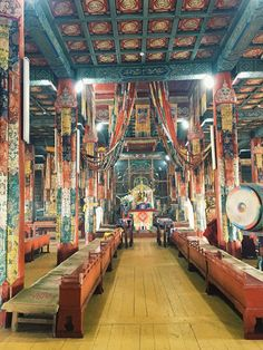 Monastère Amarbayasgalant, Mongolie#Parmi les 3 plus grands monastères de Mongolie, complexe bouddhique impressionnant par son unité architecturale et son environnement.#http://urlz.fr/3m5r#lpohjewelry.blogspot.fr/
