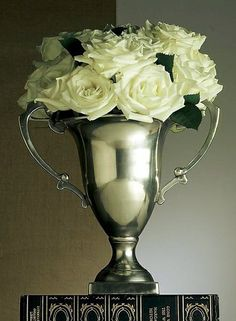Antique silver trophy #decor #preppy