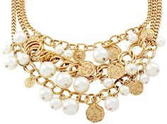 Kette - Golden Penny - Bijou Brigitte Online-Shop