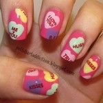 Valentines day nail art inspriation 01