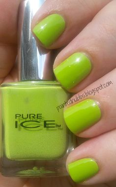 Painted Nubbs: @Pure Ice Nail Polish  Wild Thing