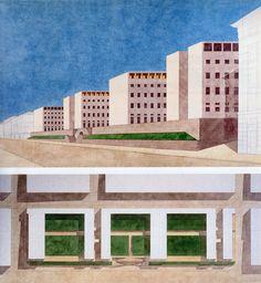 Giorgio Grassi | Oficinas del Gobierno Regional | Trieste, Italia | 1974
