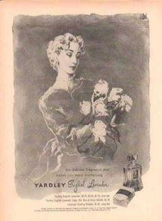YARDLEY English Lavender – makes you more enchanting (1949)
