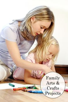 Arts & crafts project ideas that you can do with your kids.