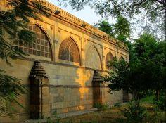 Back Side of Sidi Saiyyed Mosque - Indiashor.com